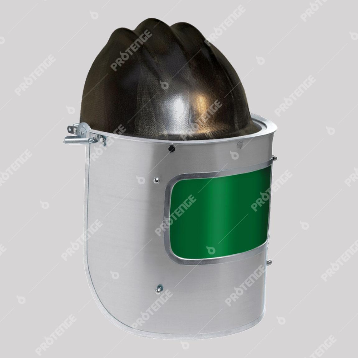 019281d7cafd2 Protetor Facial em Alumínio V2 - Protenge EPI com Engenharia